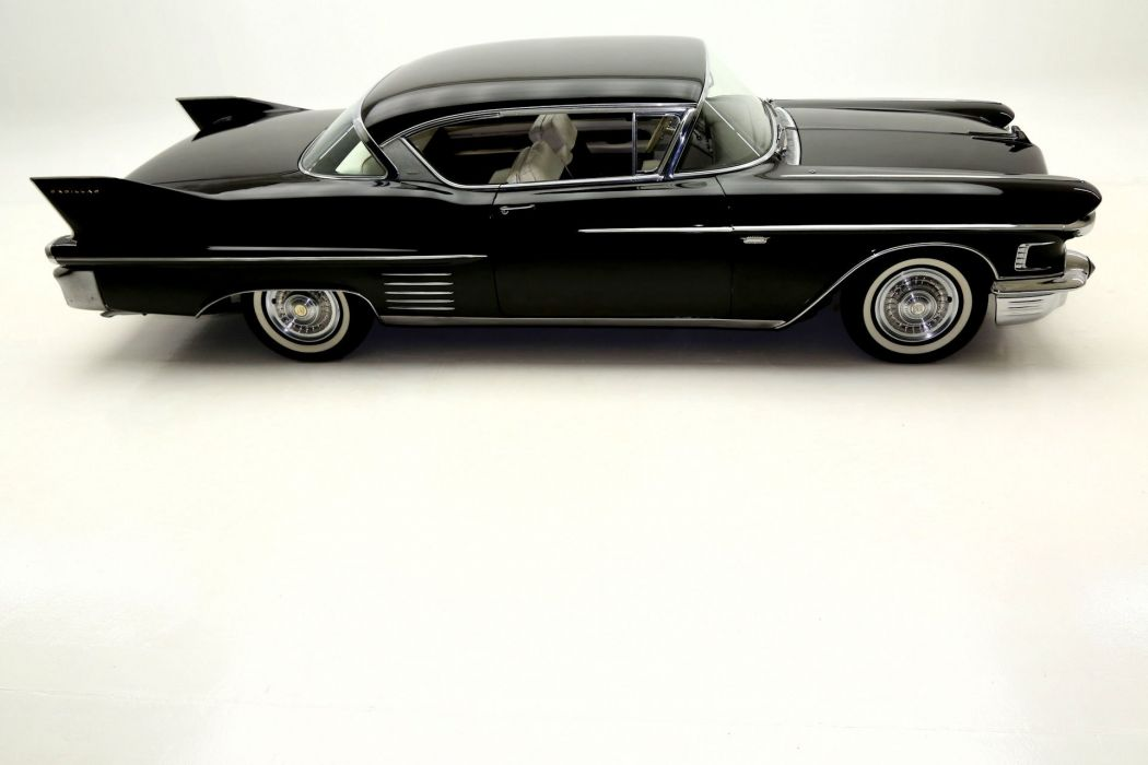 1958 CADILLAC SERIES-62 DEVILLE luxury retro ville 331ci wallpaper