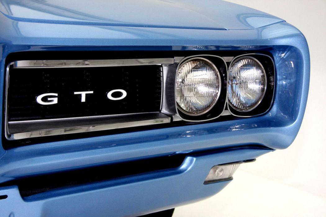 1968 PONTIAC GTO 400ci muscle classic wallpaper