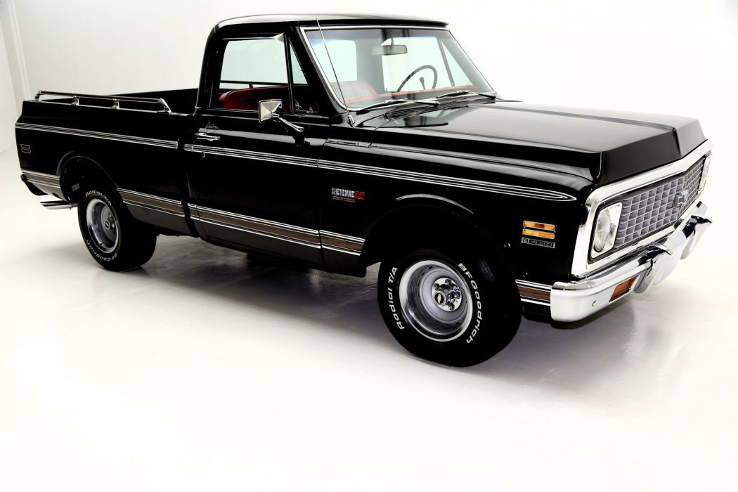 1971 CHEVROLET CHEYENNE CST SUPER 400ci pickup muscle truck wallpaper