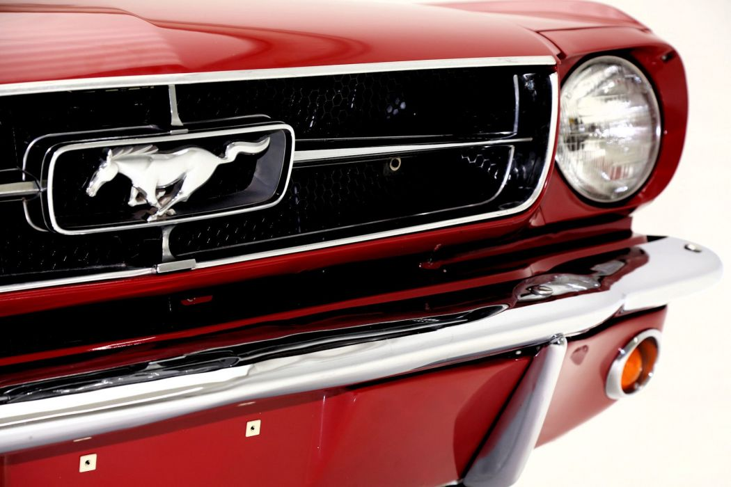 1965 FORD MUSTANG 289ci CONVERTIBLE muscle classic wallpaper