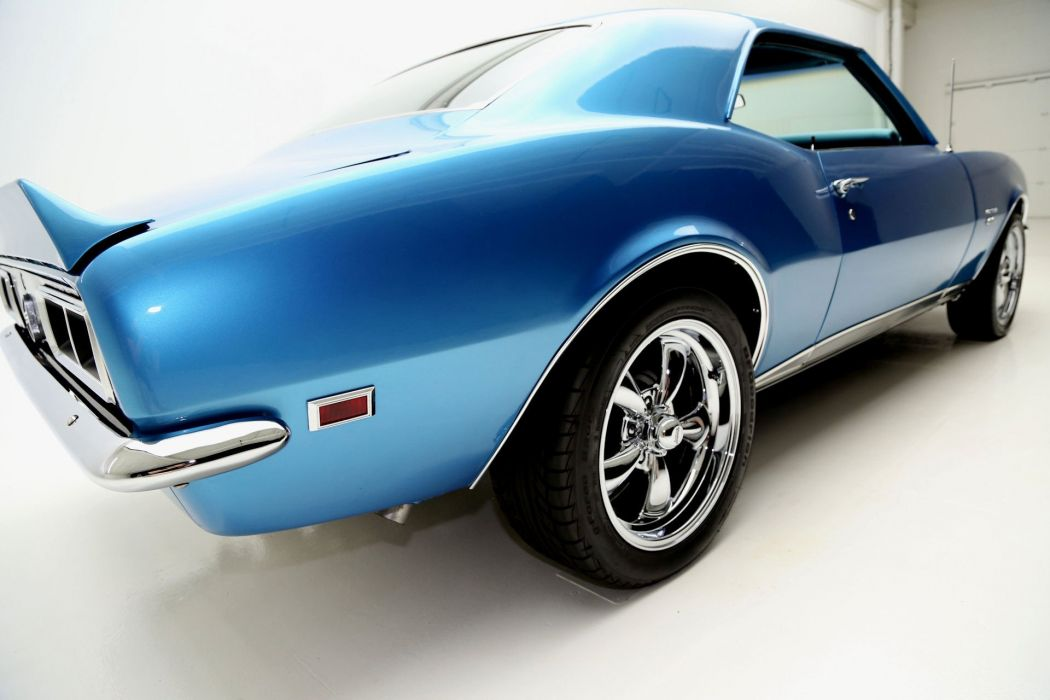 1968 CHEVROLET CAMARO 350ci S-S muscle classic wallpaper