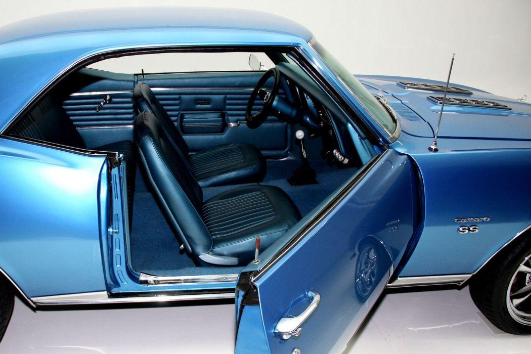 1968 CHEVROLET CAMARO 350ci S-S muscle classic wallpaper