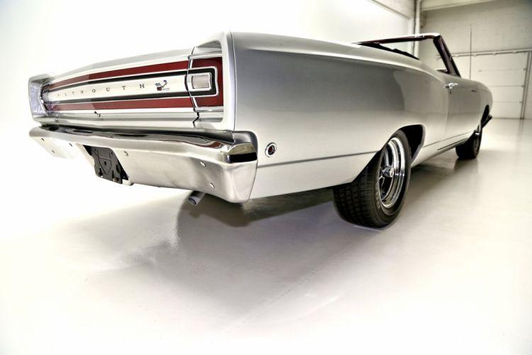 1968 PLYMOUTH ROAD RUNNER 383ci convertible muscle classic clone mopar wallpaper