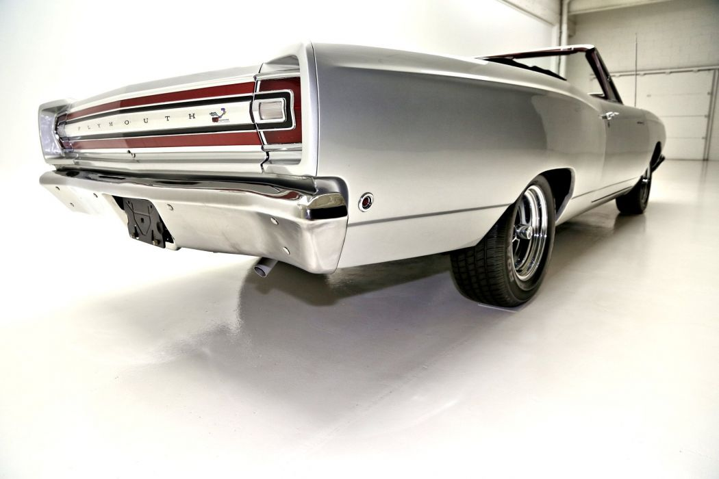 1968 PLYMOUTH ROAD RUNNER 383ci convertible muscle classic clone mopar wallpaper