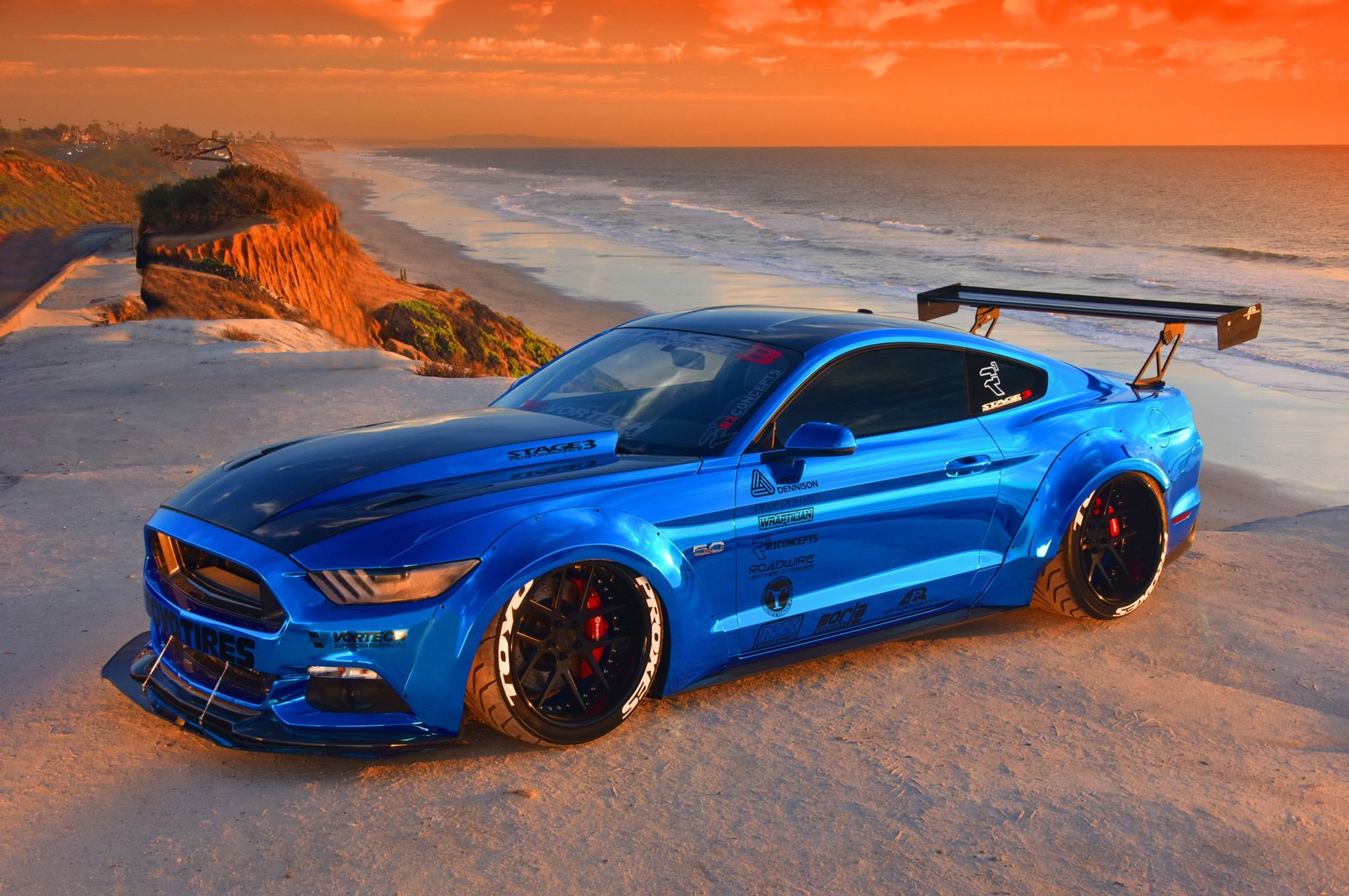 2015 S550 Ford Mustang Drift Race Racing Muscle Hot Rod