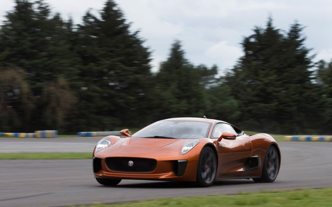2015 Jaguar C-X75 supercar james bond 007 spectre wallpaper