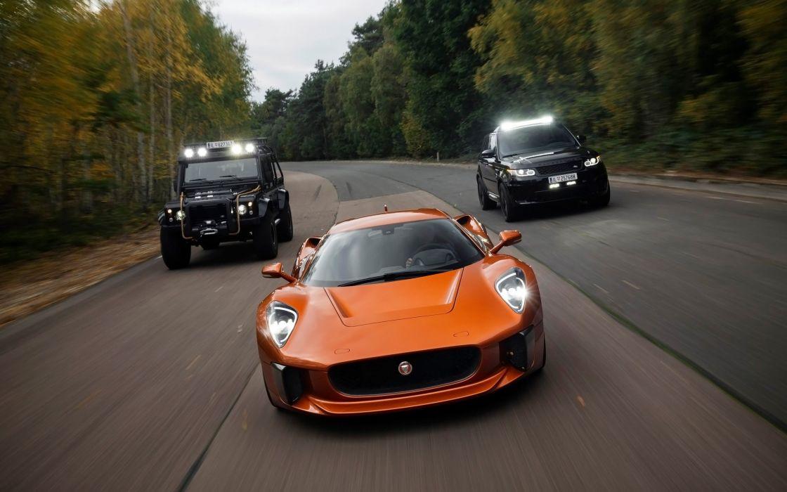 2015 Jaguar C-X75 supercar james bond 007 spectre wallpaper