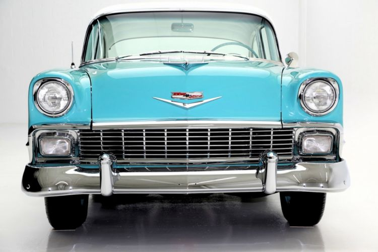 1956 CHEVROLET 210 265ci retro wallpaper
