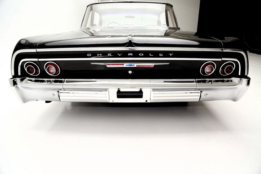 1964 CHEVROLET BEL AIR 283ci custom hot rod rods muscle classic belair wallpaper