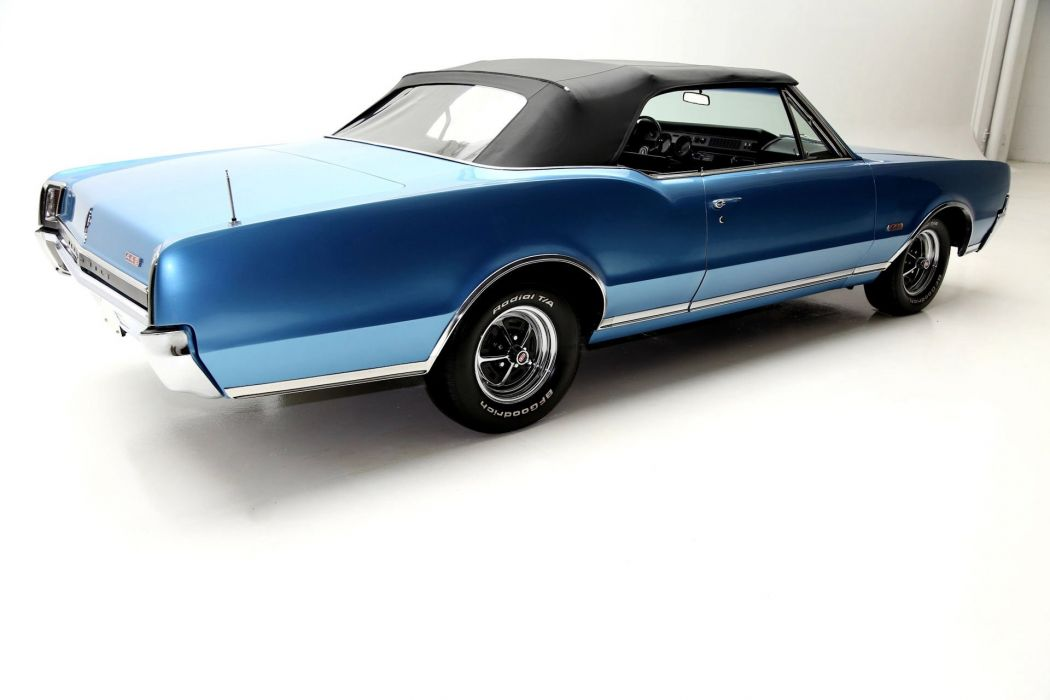 1967 OLDSMOBILE 442 CONVERTIBLE 400ci muscle classic wallpaper