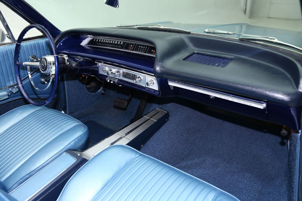 1964 CHEVROLET IMPALA CONVERTIBLE 327ci muscle classic wallpaper