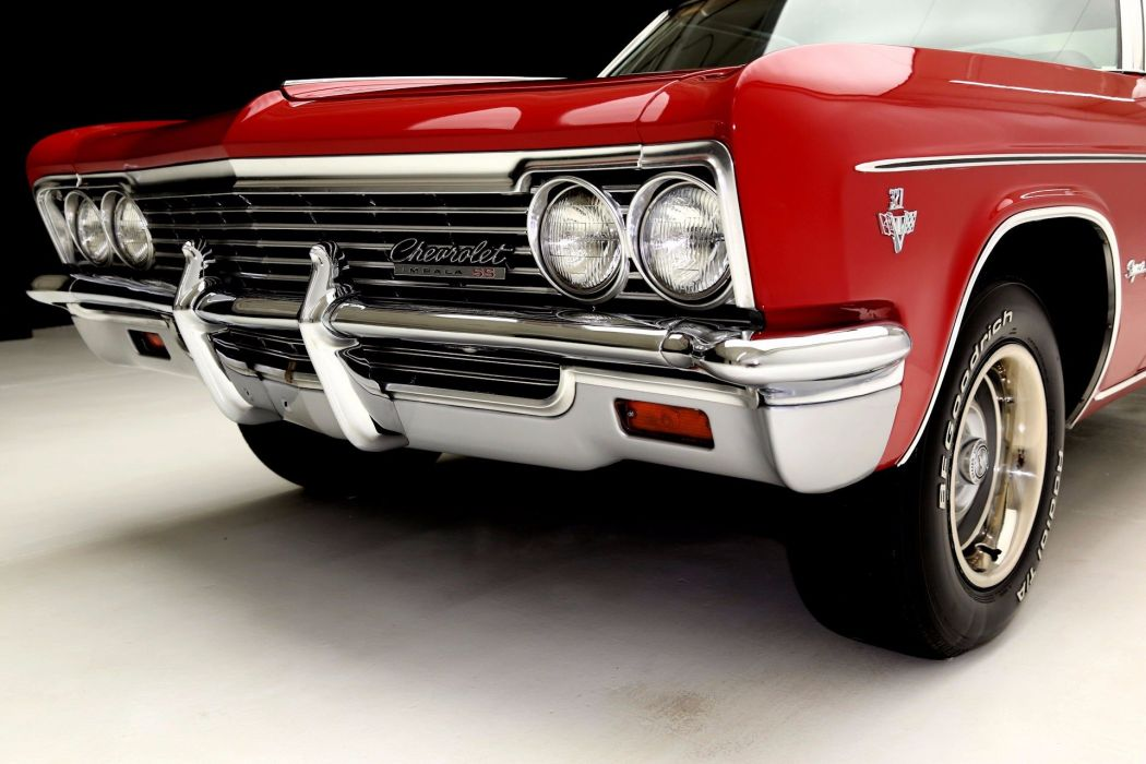 1966 CHEVROLET IMPALA S-S 327ci muscle classic wallpaper