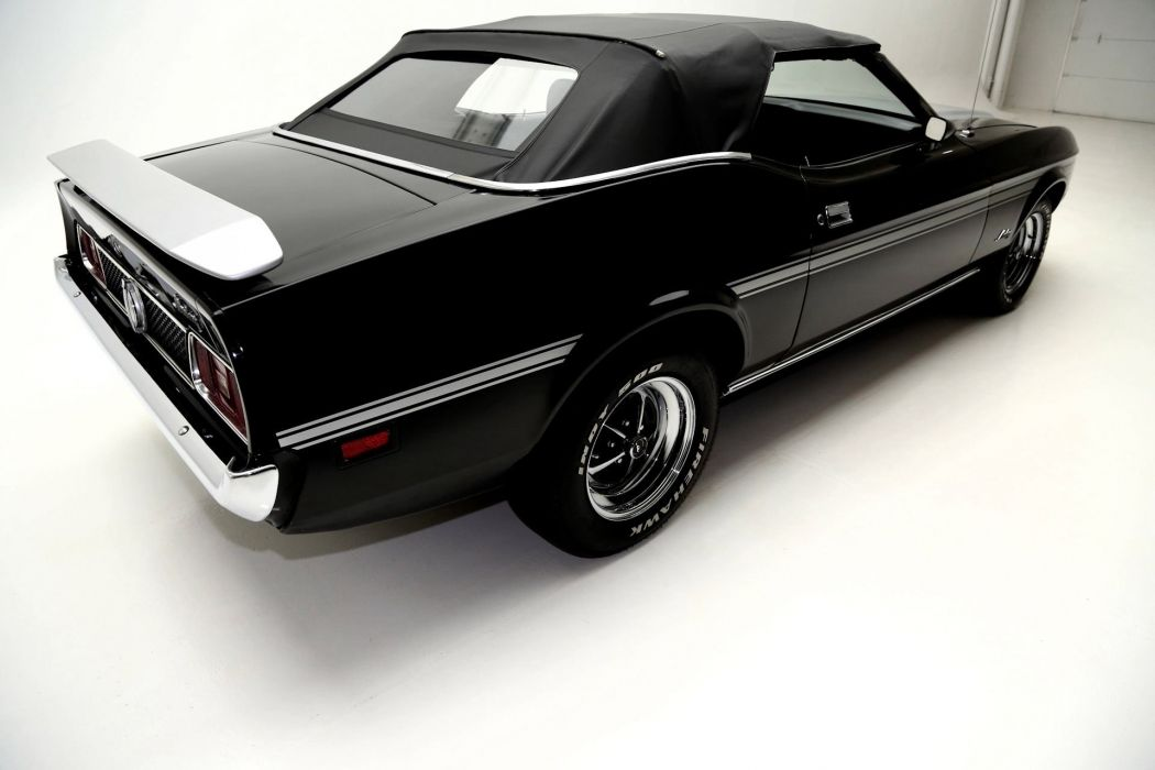 1973 FORD MUSTANG 351ci CONVERTIBLE muscle classic wallpaper