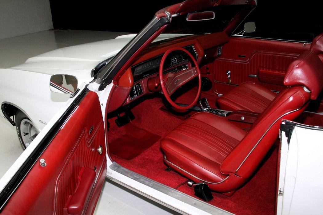 1970 CHEVROLET CHEVELLE 350ci convertible muscle classic wallpaper
