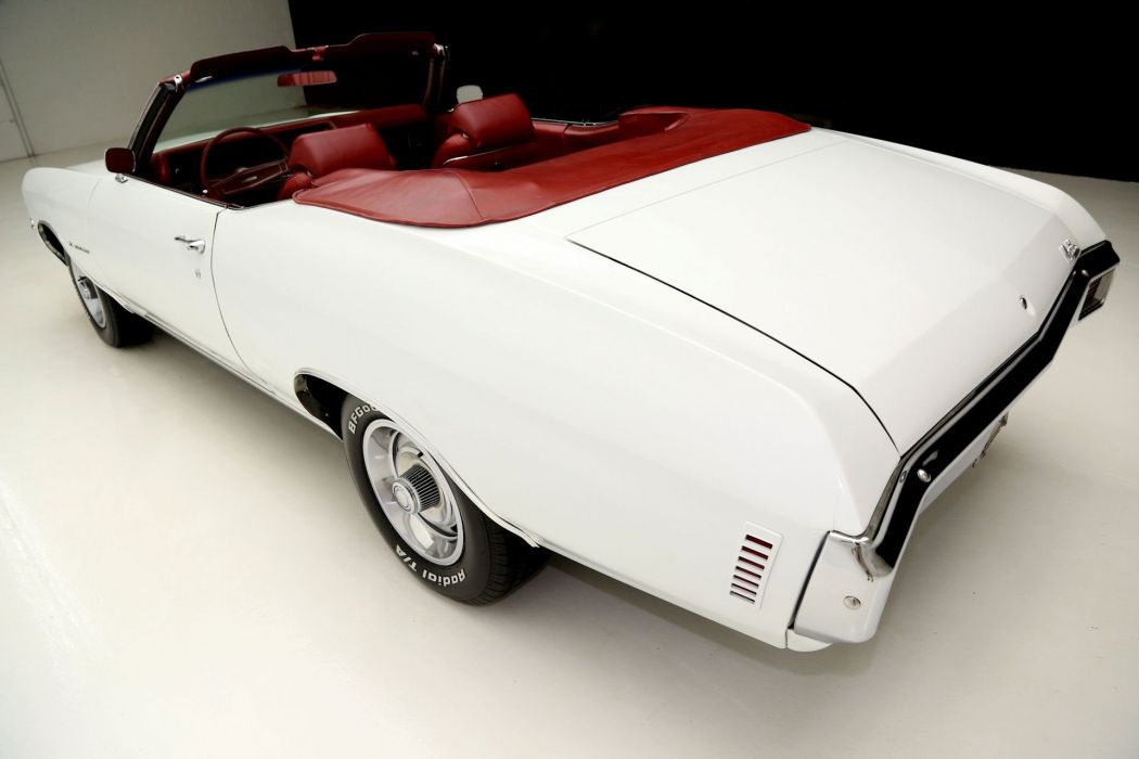 1970 CHEVROLET CHEVELLE 350ci convertible muscle classic wallpaper