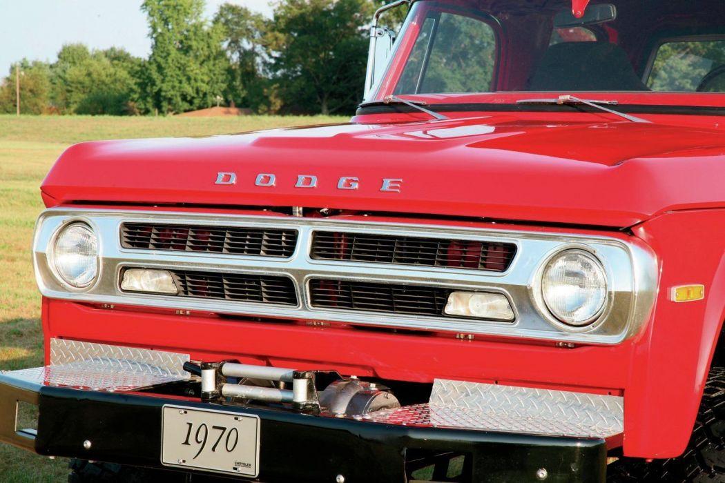 1970 Dodge Crew Cab Cummins Power Wagon 4x4 pickup tuning custom classic wallpaper