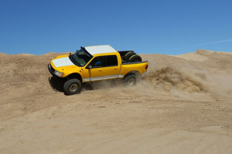 2001 FORD F-150 SUPERCREW 4x4 custom pickup offroad f150 wallpaper