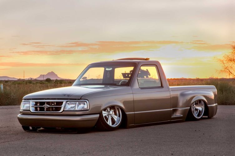 1994 Ford Ranger lowrider custom hot rod rods pickup wallpaper