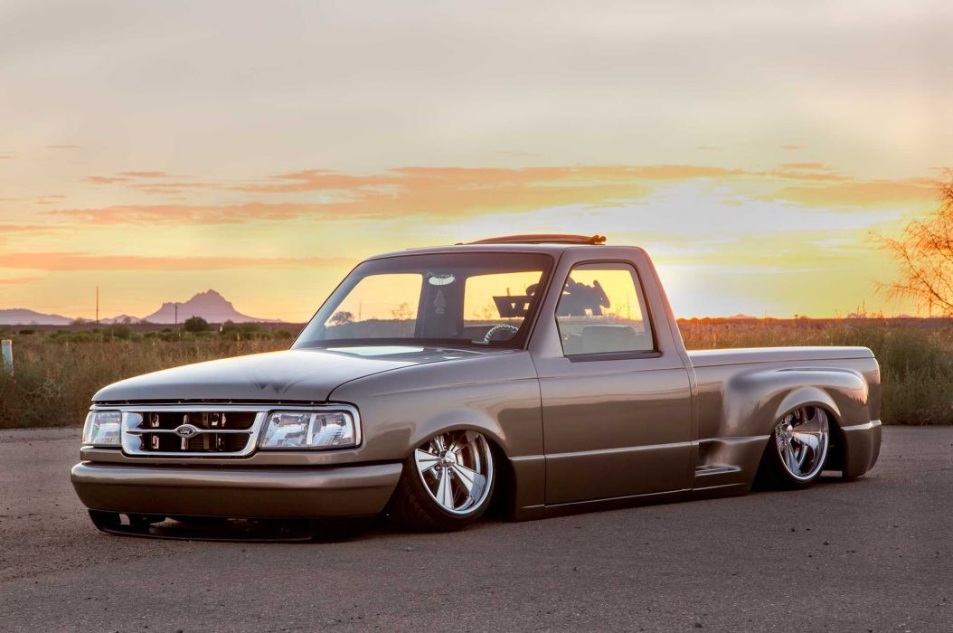 1994 Ford Ranger lowrider custom hot rod rods pickup wallpaper