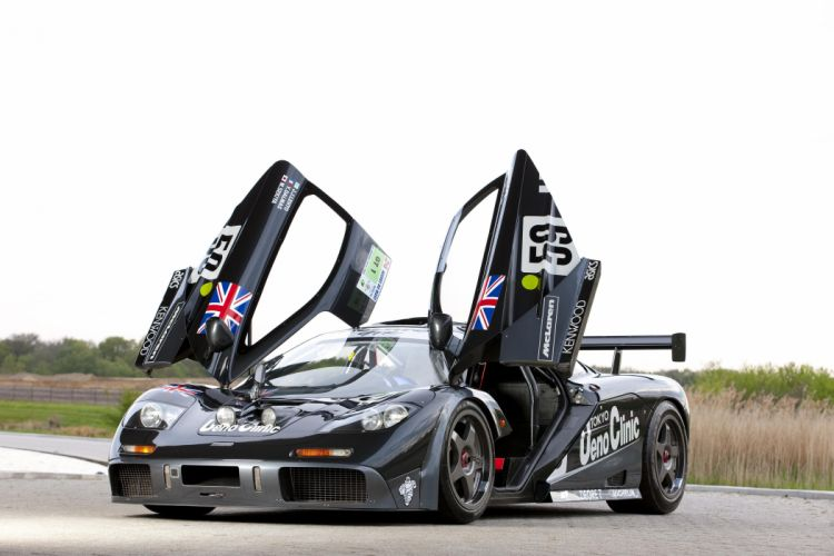1995 McLaren F-1 GTR rally supercar race racing wallpaper