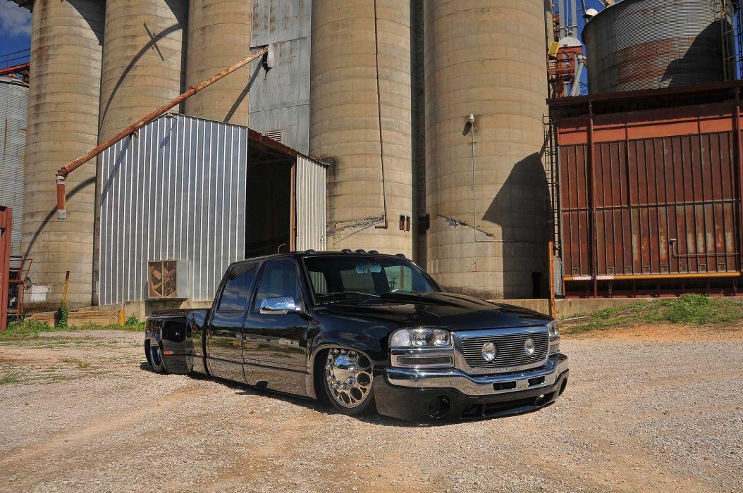2000 Chevrolet 3500 Dualie pickup custom lowrider hot rod rods wallpaper