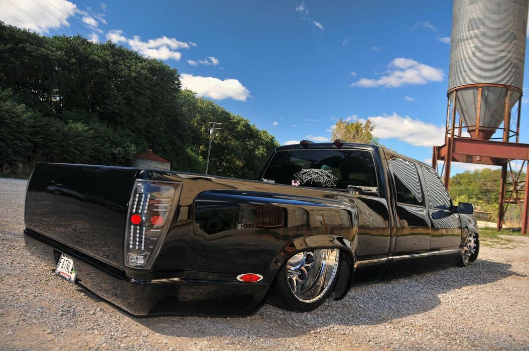 2000 Chevrolet 3500 Dualie pickup custom lowrider hot rod rods wallpaper