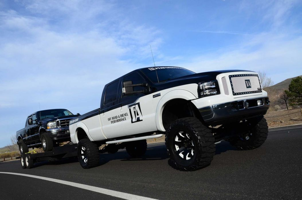 2002 Ford F-350 4x4 pickup custom f350 wallpaper