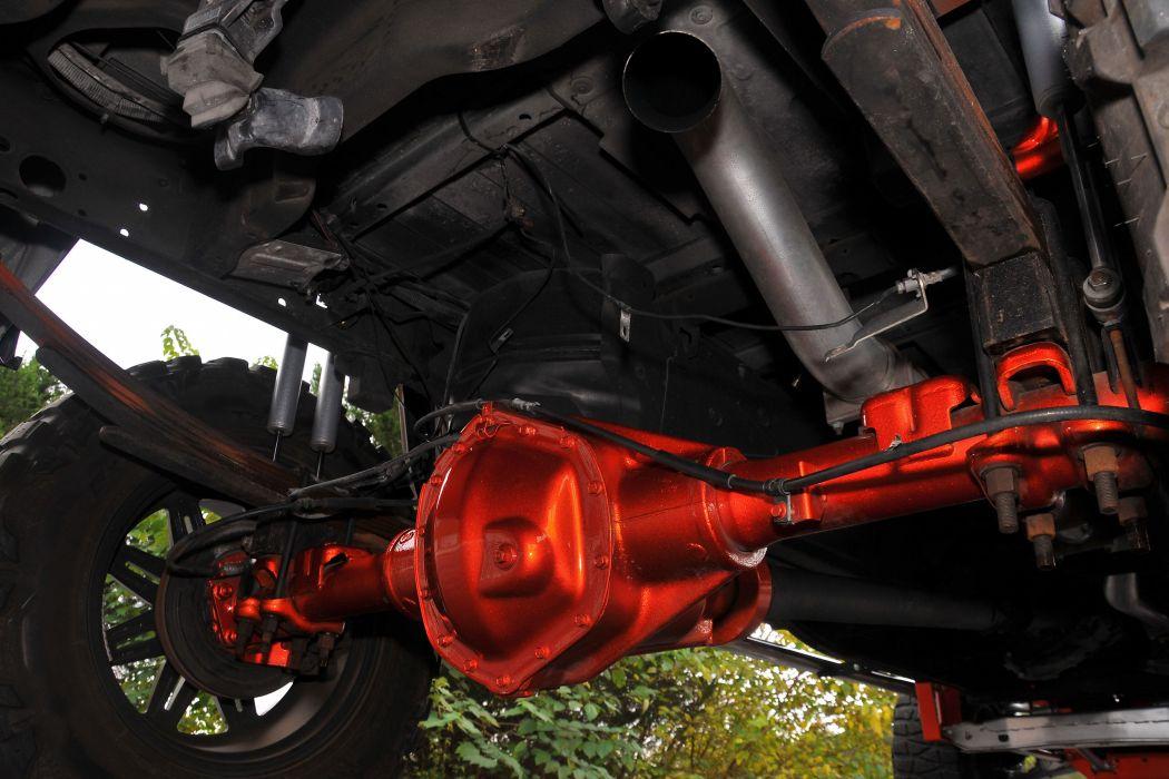 2008 Chevy Silverado 3500 H-D pickup custom 4x4 tuning wallpaper