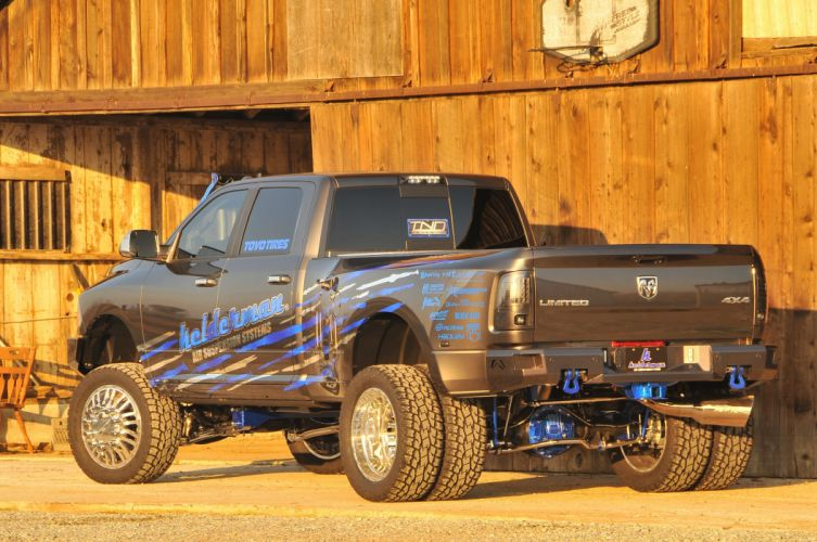 2014 Dodge Ram 3500 Dually mopar 4x4 custom tuning pickup wallpaper