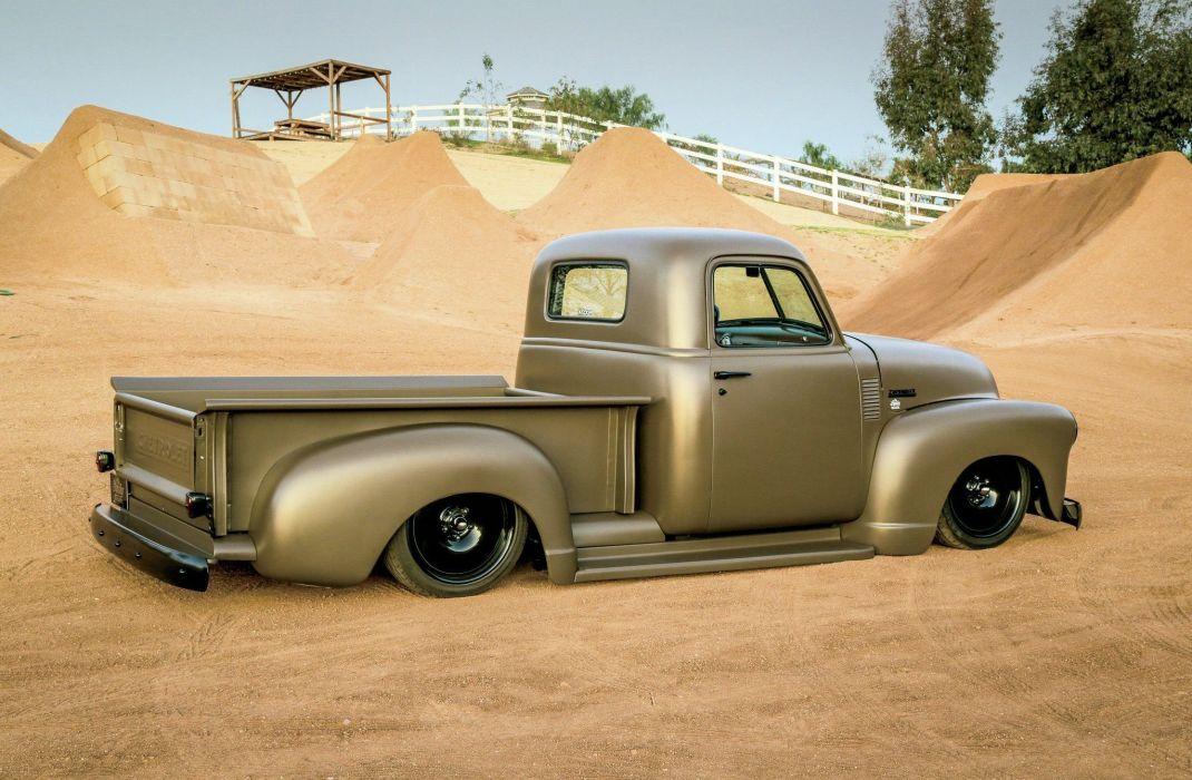 1950 Chevrolet 3100 pickup lowrider custom hot rod rods retro tuning wallpaper