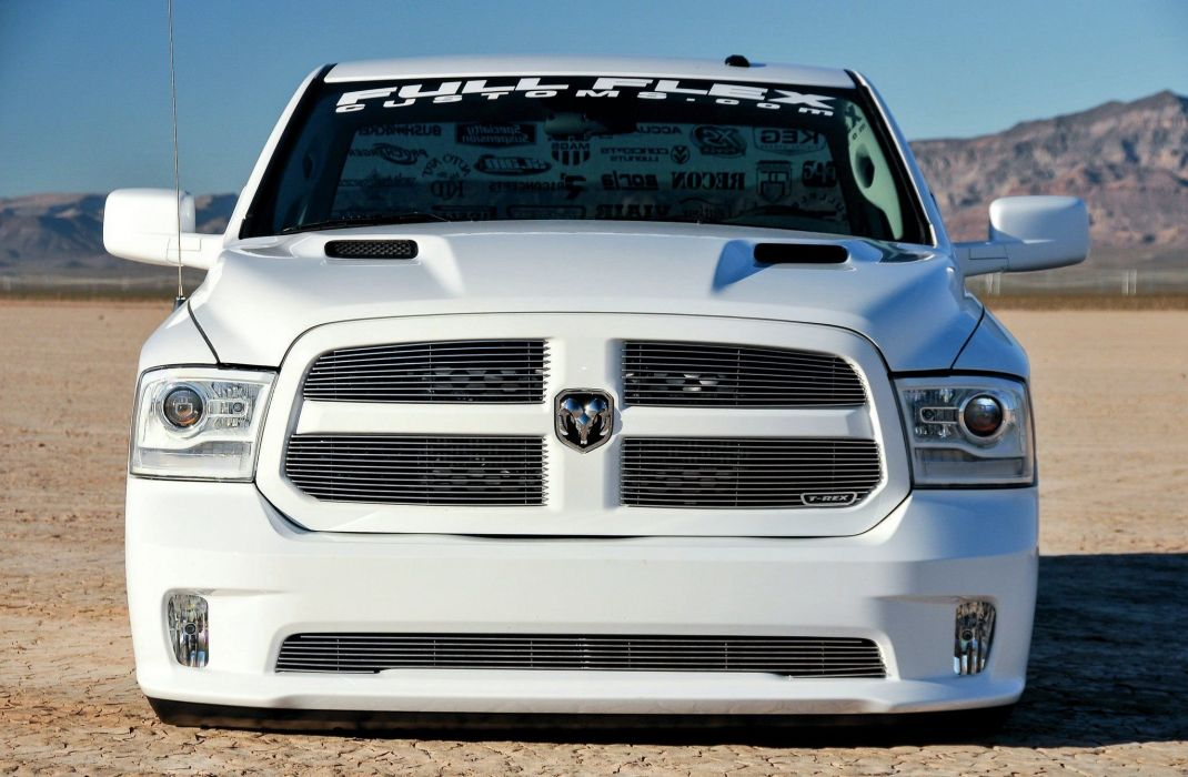 2014 Dodge Ram 1500 Dualie pickup custom tuning hot rod rods lowrider mopar wallpaper