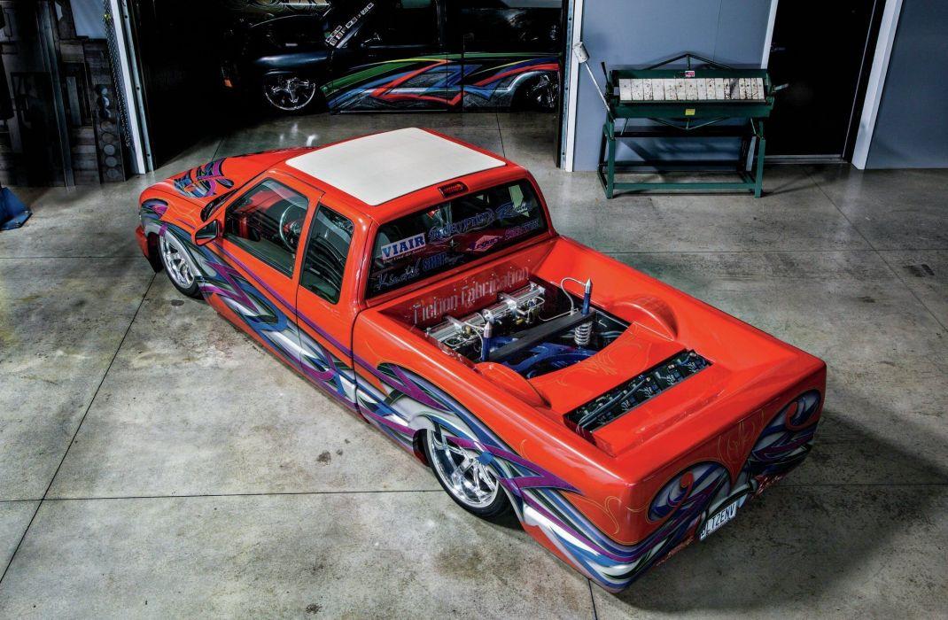 2000 Chevrolet S10 pickup custom lowrider tuning lowrider wallpaper