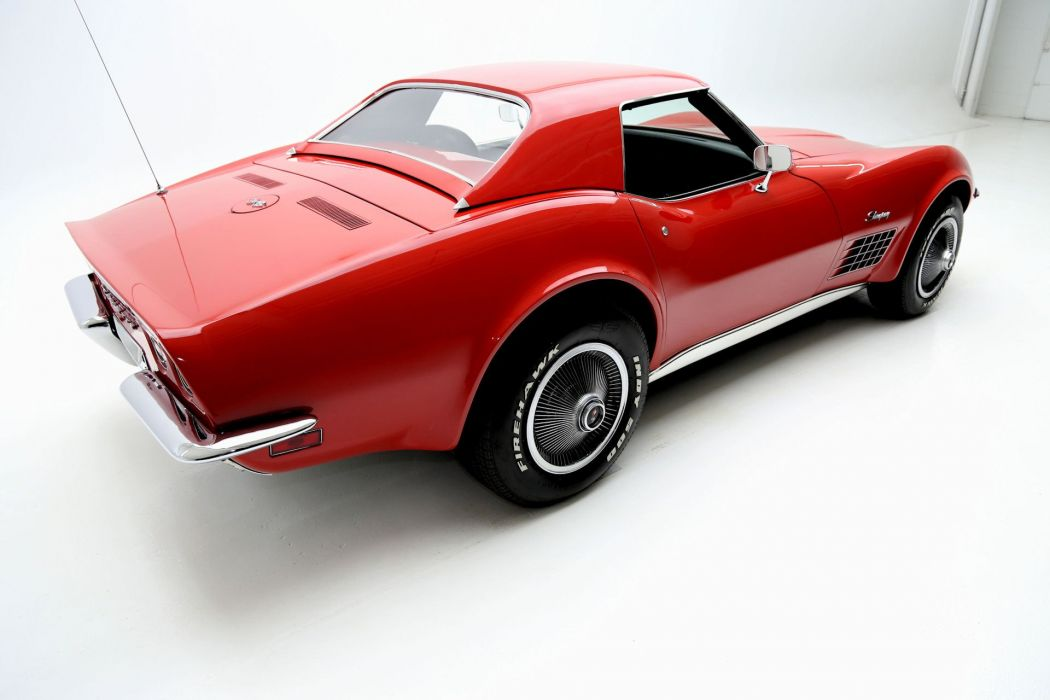 1971 CHEVROLET CORVETTE STINGRAY ROADSTER 350ci supercar muscle classic wallpaper