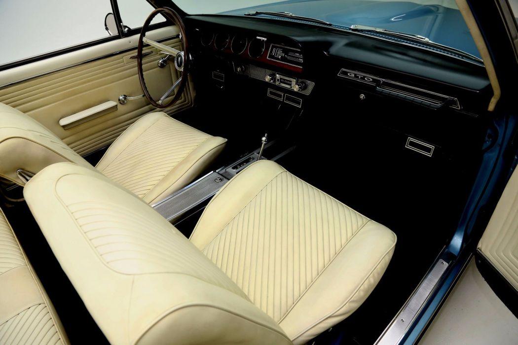 1965 PONTIAC LEMANS CONVERTIBLE GTO 326ci muscle classic wallpaper