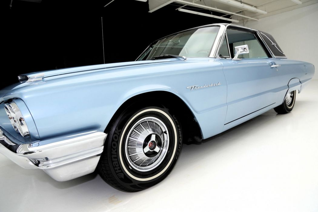 1964 FORD THUNDERBIRD 390ci LANDAU luxury classic wallpaper