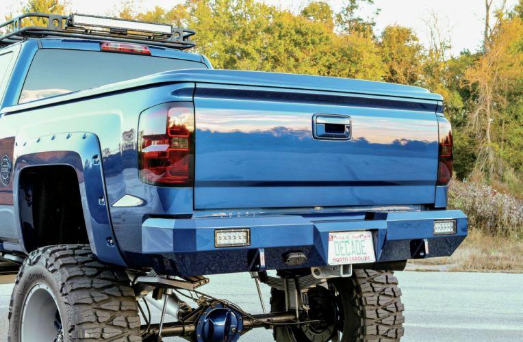 2014 Chevrolet Silverado Crew Cab 4x4 pickup tuning custom wallpaper