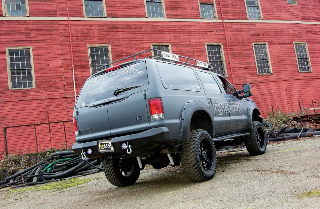 2001 Ford Excursion suv 4x4 tuning custom wallpaper