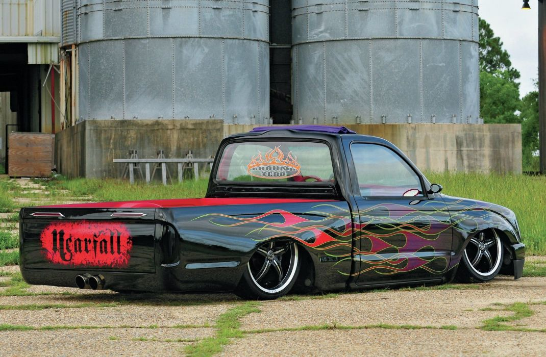 1996 Toyota Tacoma lowrider pickup custom tuning hot rod rods wallpaper