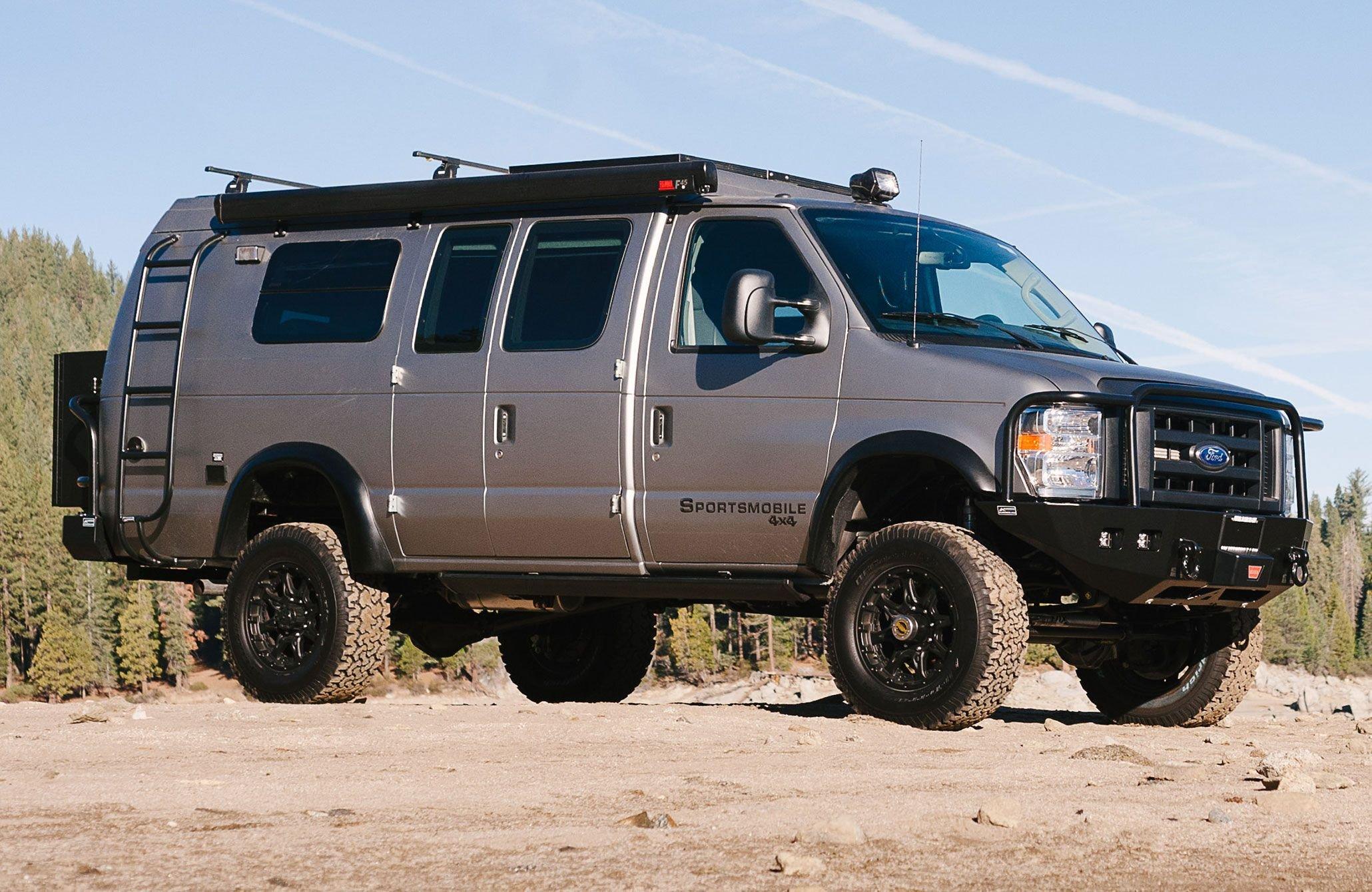2015 sportsmobile ford e 350 van camper motorhome 4x4 f350 wallpaper 2060x1340 859745 wallpaperup