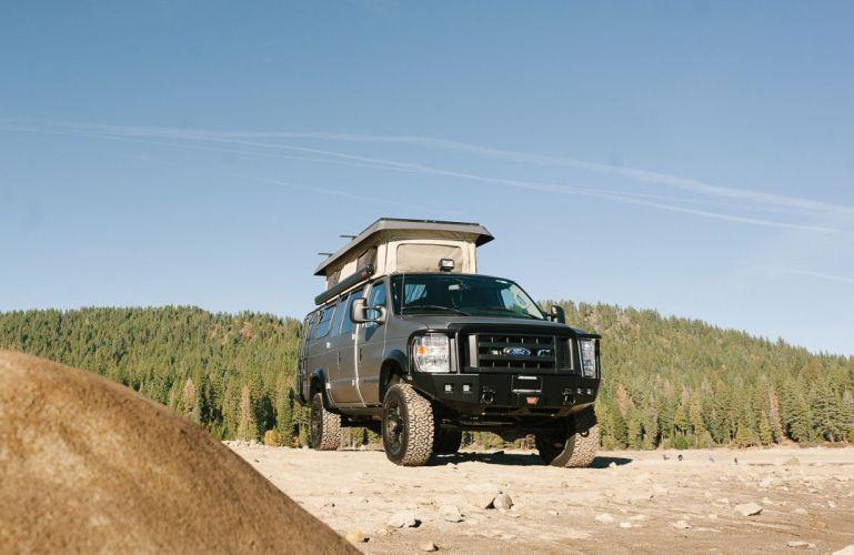 2015 Sportsmobile Ford E-350 van camper motorhome 4x4 f350 wallpaper