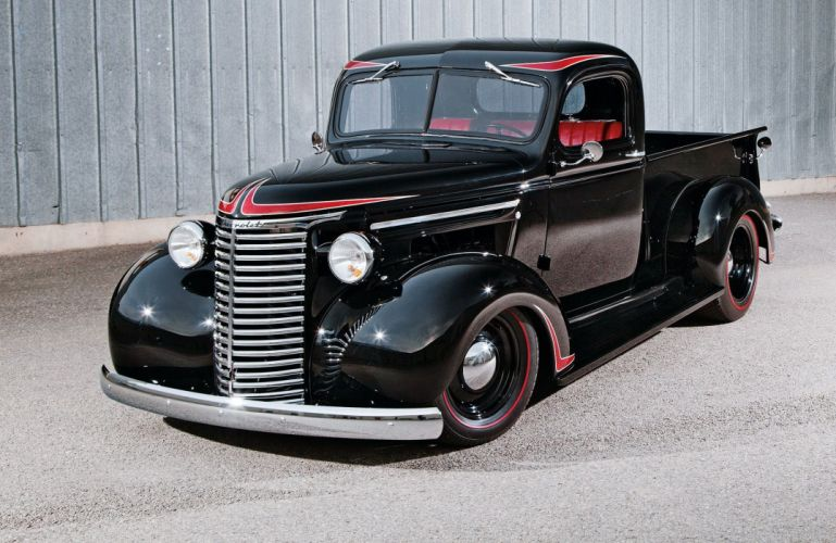 1939 Chevrolet Pickup custom hot rod rods retro vintage wallpaper
