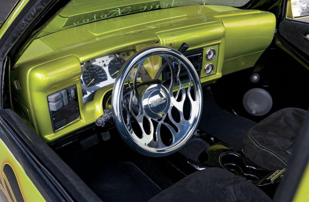 1995 Chevrolet S10 Pickup lowrider custom tuning hot rod rods wallpaper