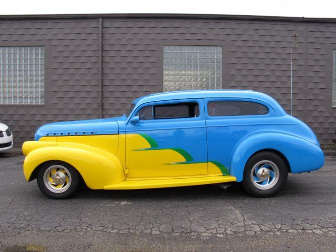 1940 Chevrolet Sedan 350CI custom hot rod rods retro wallpaper