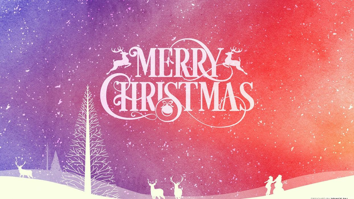 CHRISTMAS holiday seasonal new year wallpaper