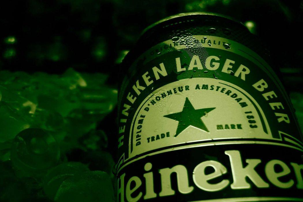 etiqueta botella cerveza heinekens wallpaper