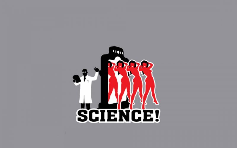 abstracto humor science wallpaper