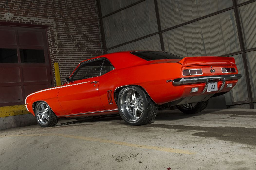 1969 Chevrolet Camaro ss pro touring modified wallpaper