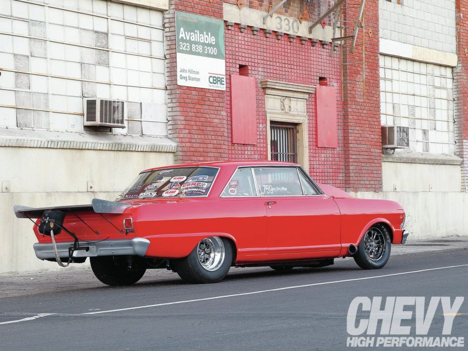 1965 Chevrolet Nova drag wallpaper