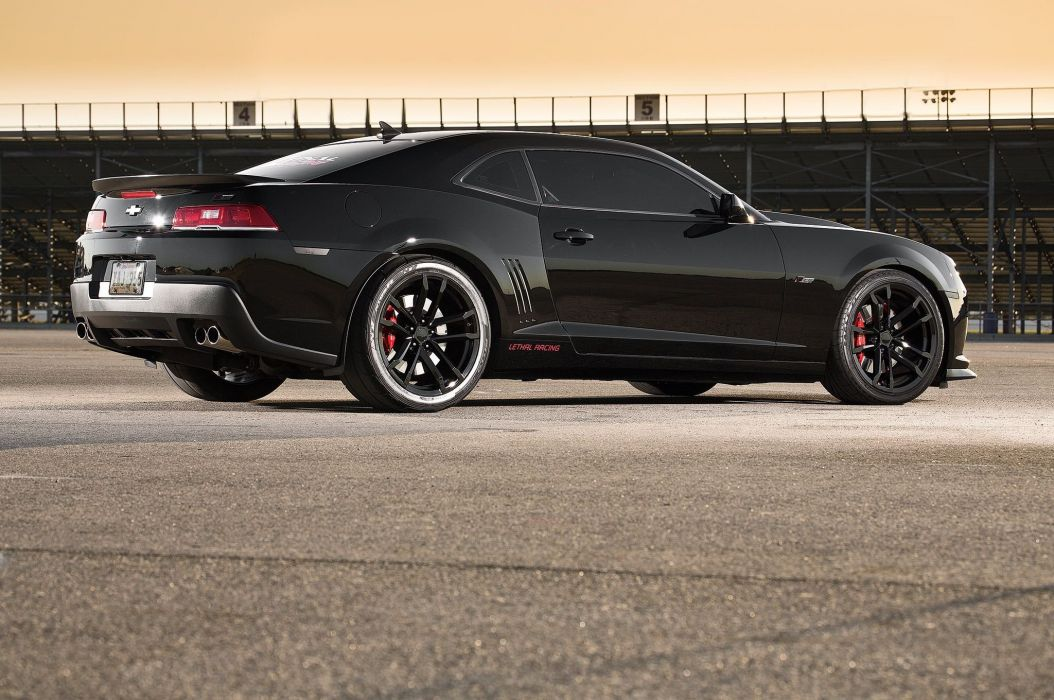 2013 chevy Camaro 1LE 800 Supercharged cars black wallpaper