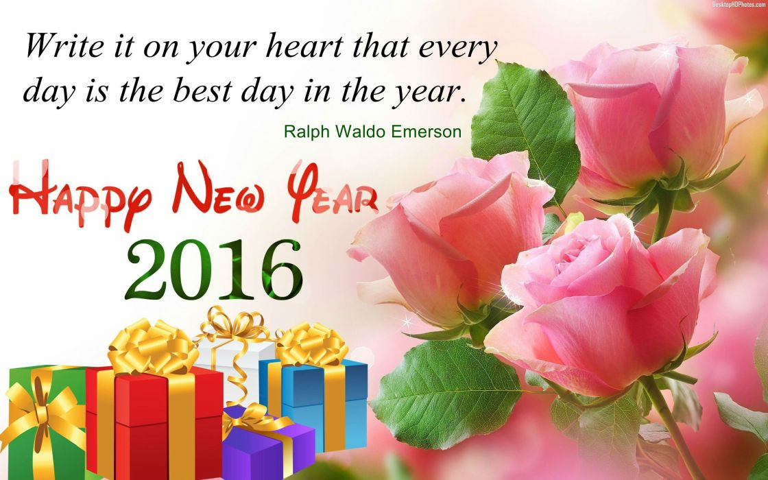 2016 NEW YEAR holiday seasonal christmas wallpaper
